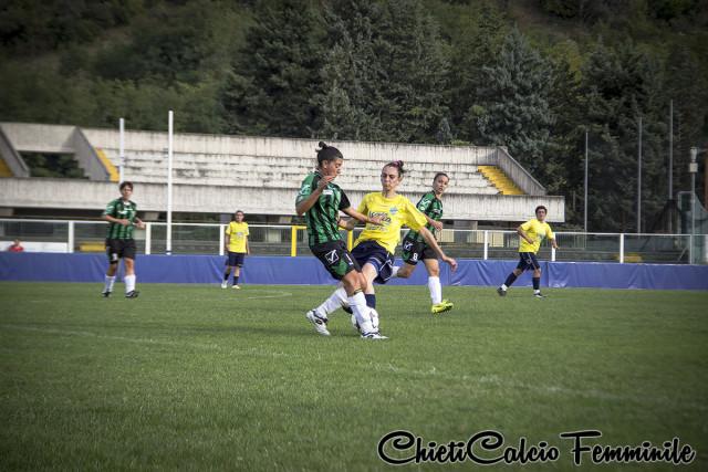 Calcio Donne – Chieti, stop prevedibile a Brescia
