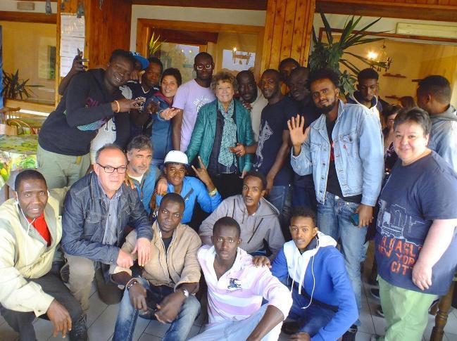 Profughi a Pescasseroli, Dacia Maraini vicina di casa