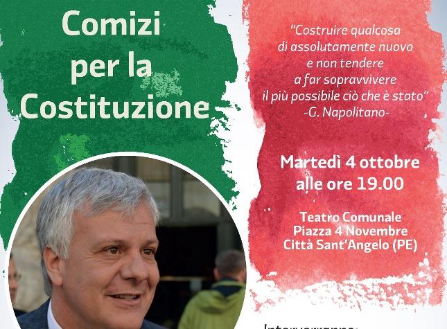 Referendum, domani il ministro Galletti a Città S.Angelo