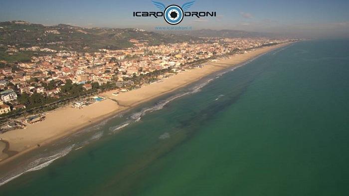 L'Abruzzo dall'alto gira il mondo con Icaro Droni