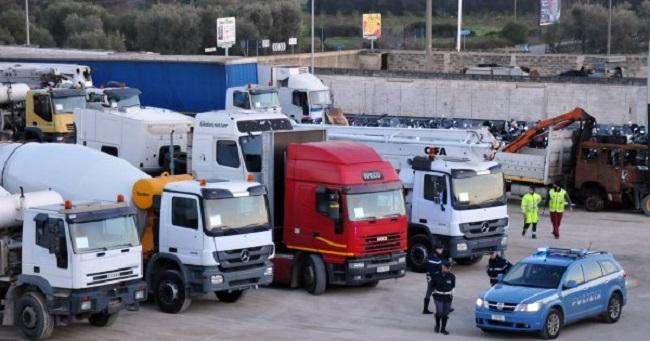 Furti mezzi pesanti: 61 rubati in Abruzzo nel 2015