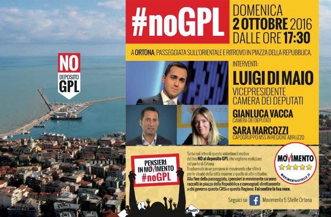 Domani Di Maio a Ortona in manifestazione contro Seastock