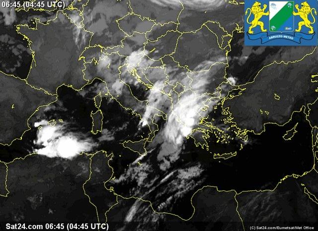 Previsioni meteo Abruzzo lunedì 10 Ottobre