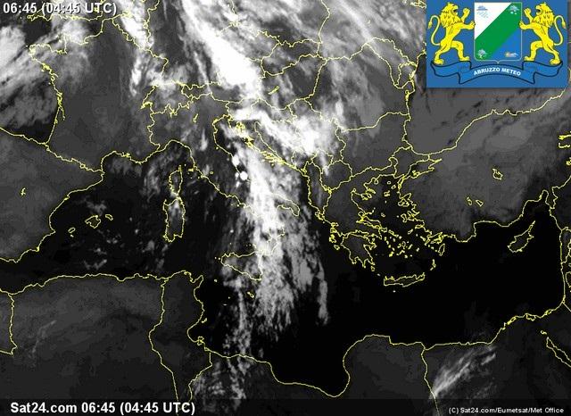 Previsioni meteo Abruzzo sabato 15 Ottobre