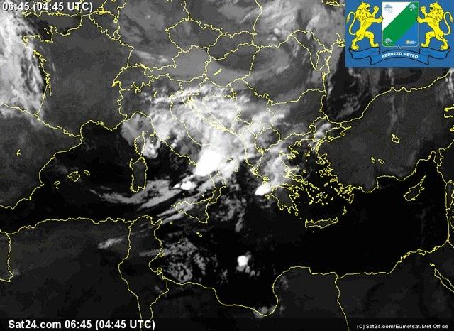 Previsioni meteo Abruzzo venerdì 7 Ottobre