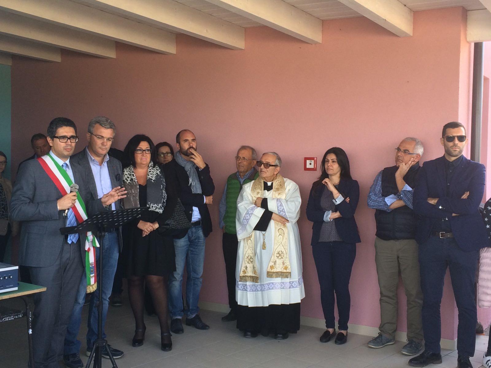 Scuole Sant'Omero: inaugurato un nuovo plesso