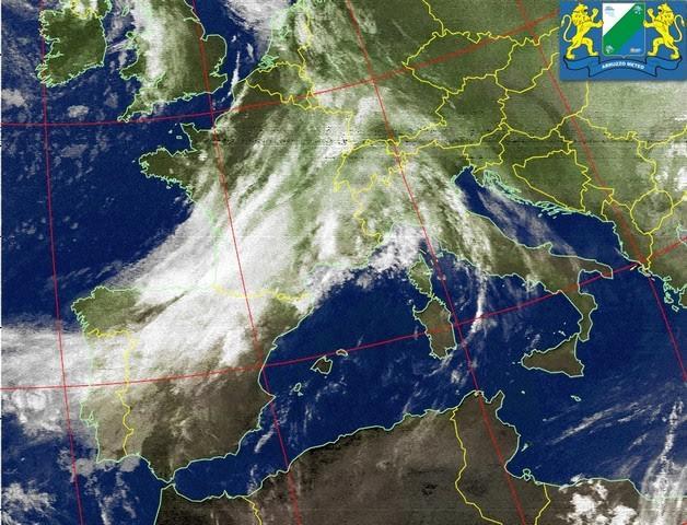Previsioni Meteo Abruzzo lunedì 17 ottobre