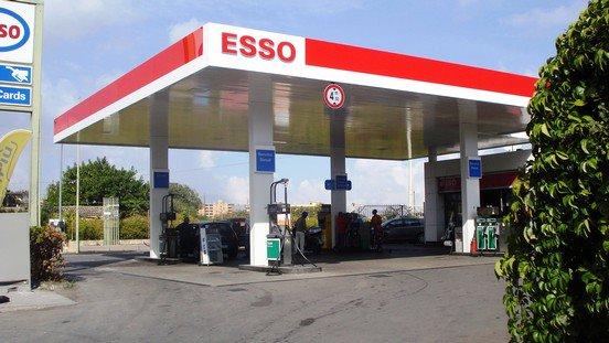 Rapina al distributore di benzina Esso a San Salvo