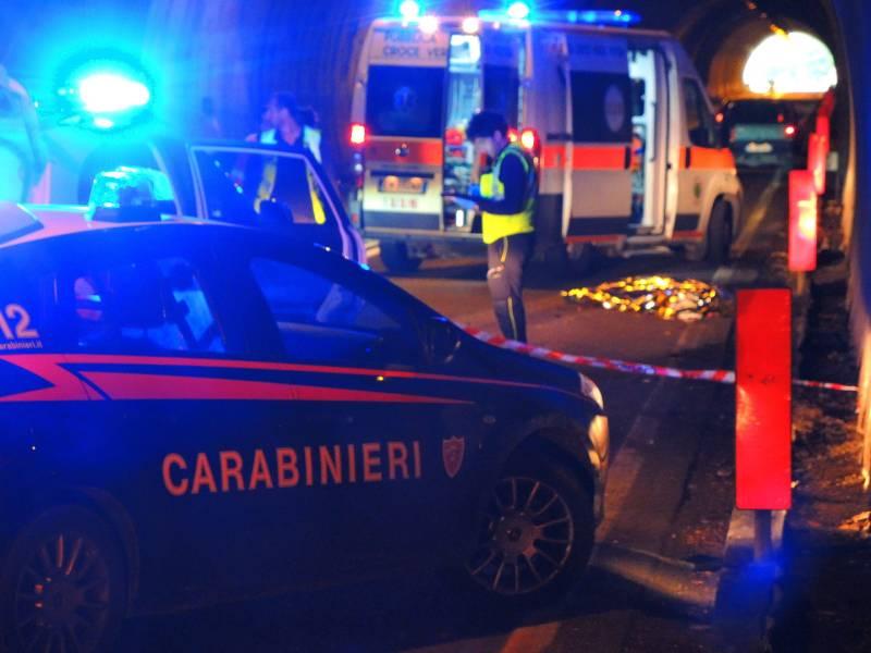 Avezzano, incidente mortale sulla ex superstrada del Liri