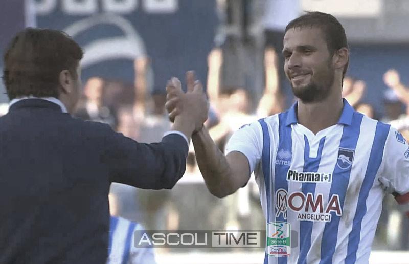 "Zuparic ""Grazie Pescara. Ti amo !"""