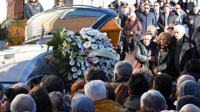 Sulmona, Mattarella ai funerali di Fabrizia Di Lorenzo