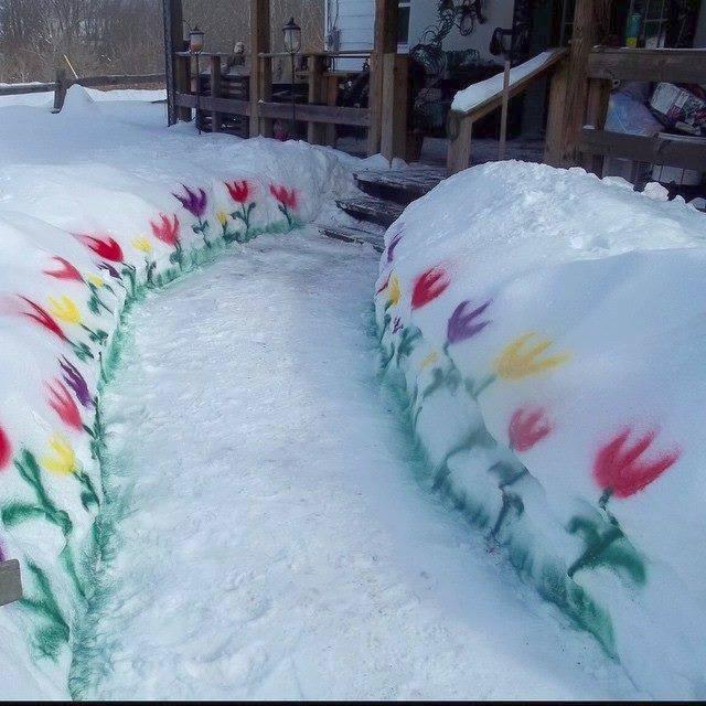 Neve, segnalateci disagi e curiosità