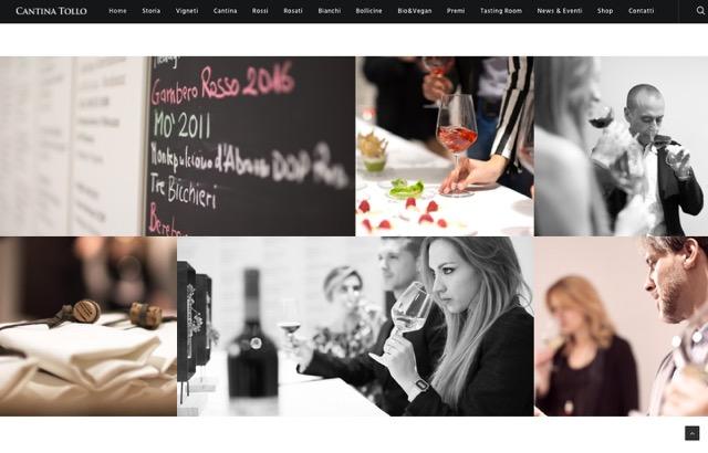 Vini: due premi per il sito web Cantina Tollo