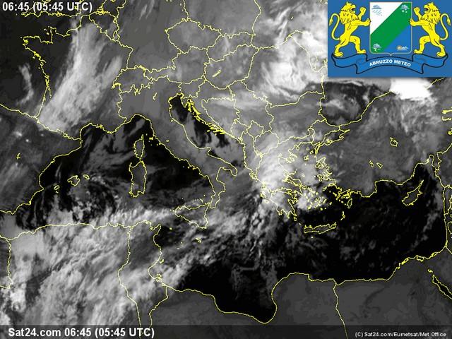 Previsioni meteo Abruzzo mercoledì 11 Gennaio