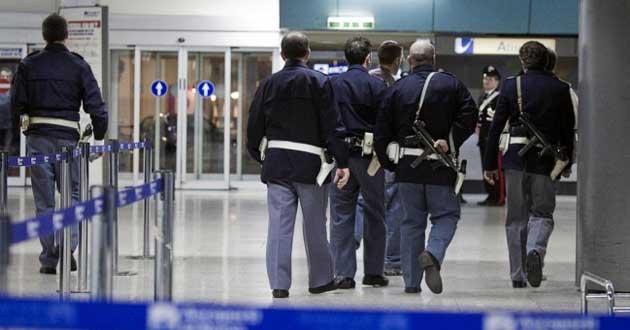 Pescara, stava fuggendo in aereo verso Bruxelles
