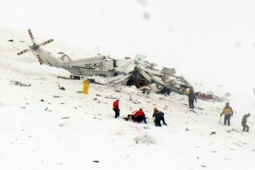 Risultati immagini per elicottero caduto