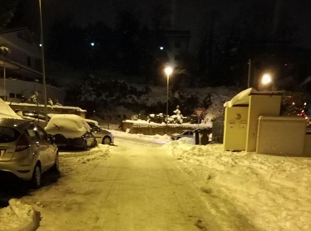 Maltempo Abruzzo: in corso altre nevicate