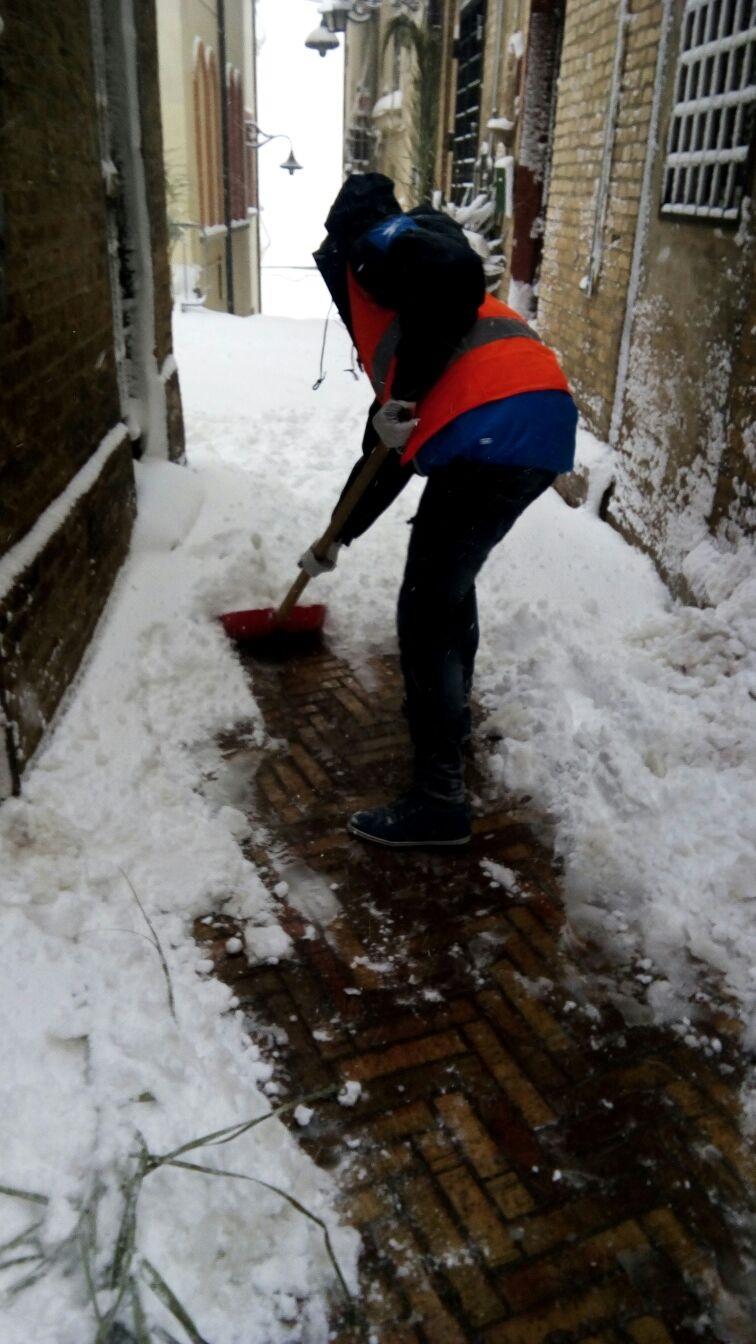 Danni neve: Bellante tra i primi comuni a recuperare le spese