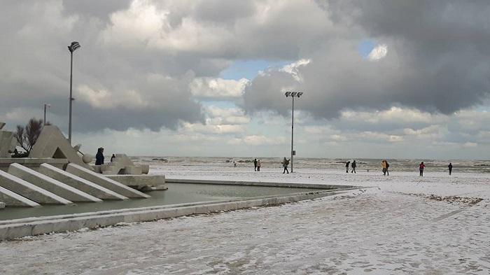 Maltempo Abruzzo: neve soprattutto sulla costa
