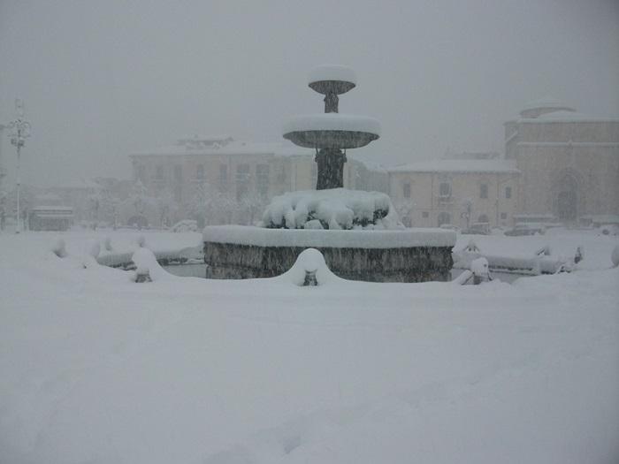 Neve in Abruzzo: le cifre dell'emergenza