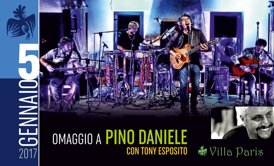 Roseto, Tony Esposito rende omaggio a Pino Daniele