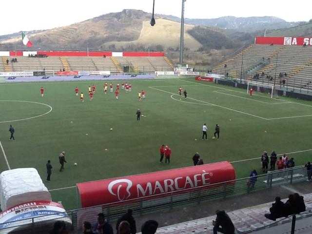 Lega Pro – Teramo Santarcangelo, live dalle 14.30