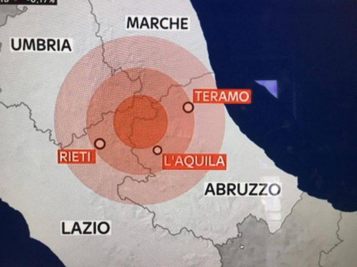 Terremoto, scossa di magnitudo 3.2 nel reatino: Amatrice trema ancora