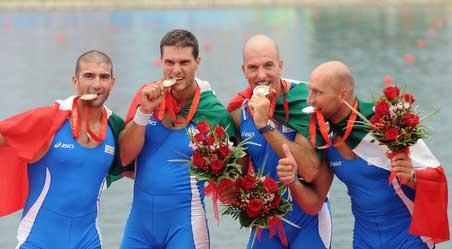 Civitella del T., i campioni olimpici in visita alla Fortezza