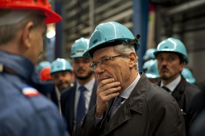 ministro de Vincenti Gran Sasso