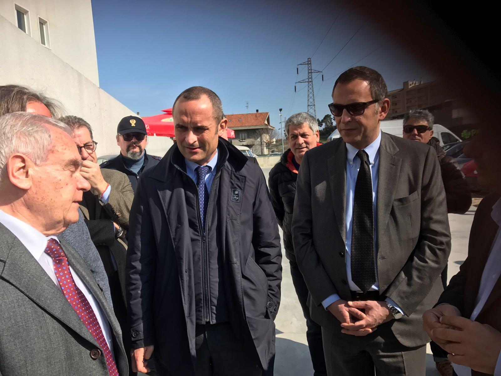 Pescara: il ministro Costa incontra i balneari