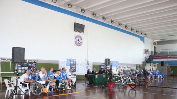 Ciclismo Paralimpico – Nazionale a Francavilla al Mare