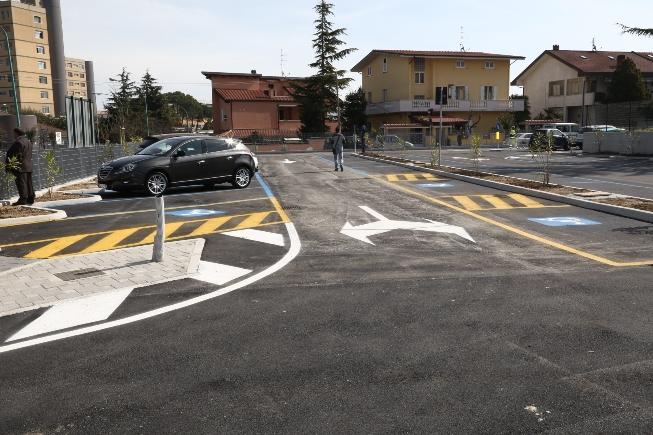 Nuovo parcheggio in zona Ospedale a Pescara
