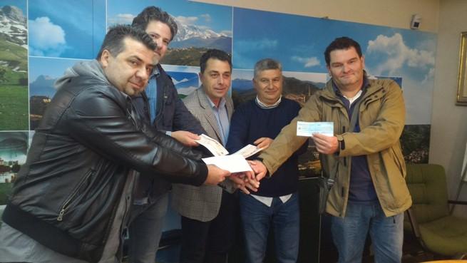 Montorio al Vomano, donazione dai lavoratori della Carraro