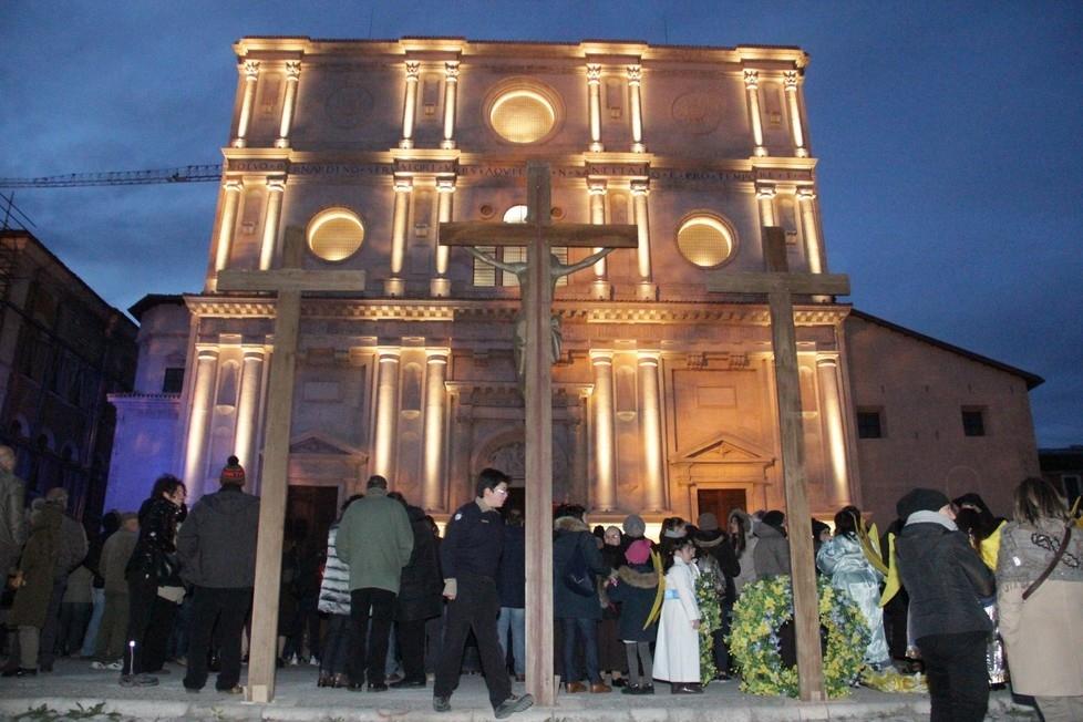 Tolfa, tutto pronto per la processione del Venerdì Santo
