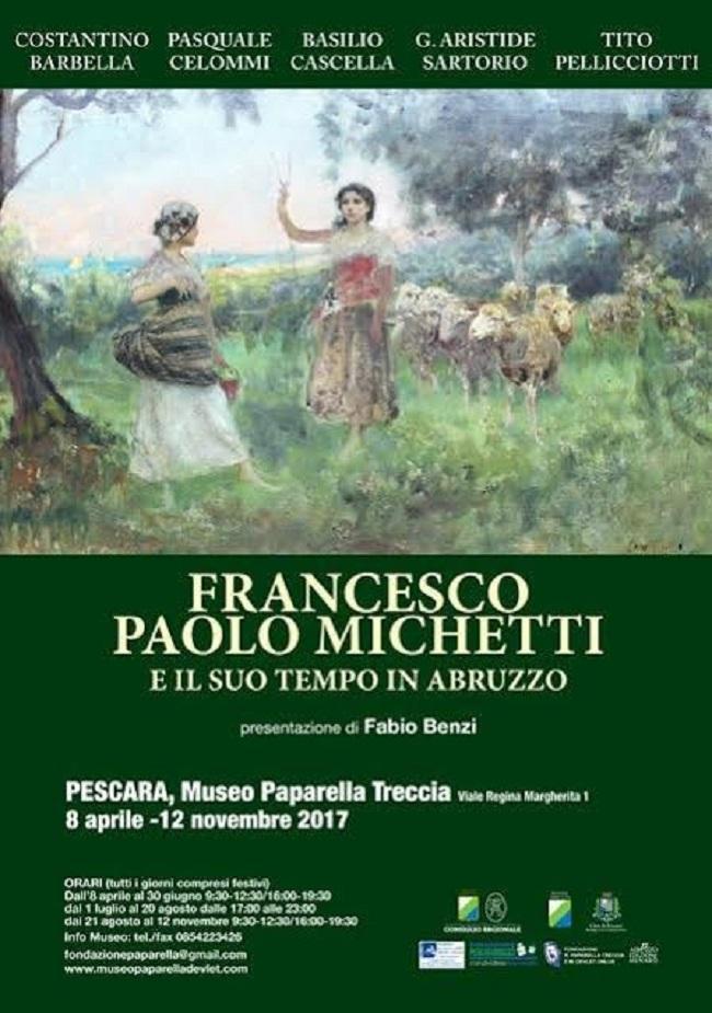 """Pescara: """"Michetti e il suo tempo"""" al museo Paparella"""