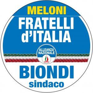 Meloni per BIONDI Sindaco