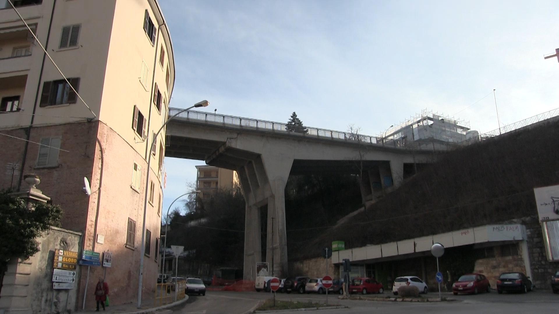 L'Aquila, Ponte Belvedere: a giugno apertura pedonale