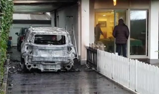Nervi tesi al Pescara: bomba carta presso la casa del presidente Sebastiani