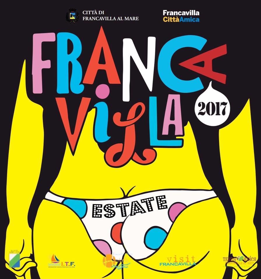 Francavilla: sedere come logo eventi Comune, polemiche sotto il sole