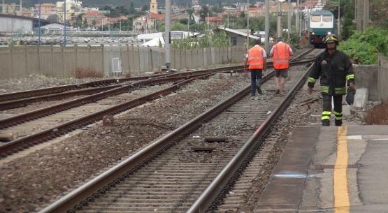 Francavilla, treno investe un uomo, 71 anni di Pescara