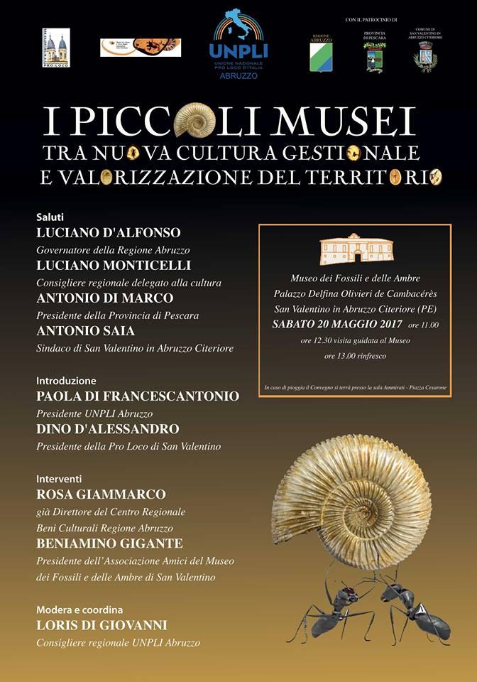 L'Unpli Abruzzo e i piccoli musei