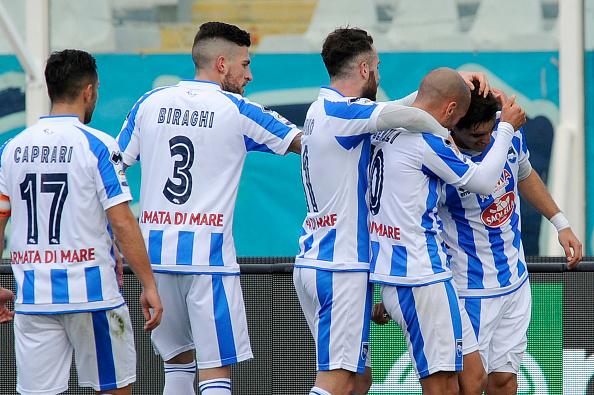 Pescara Calcio, la seduta mattutina