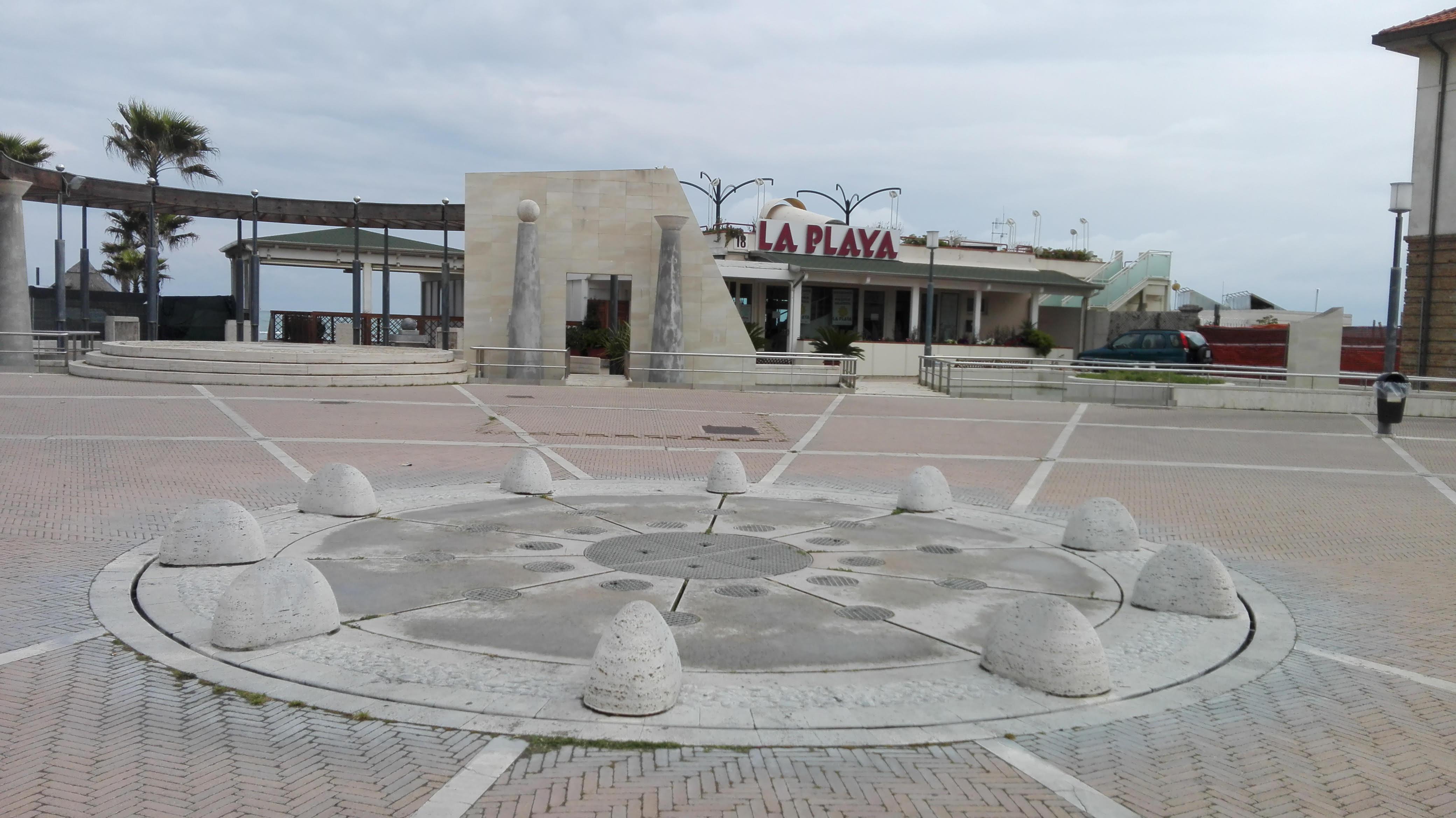 Pescara: riattivare la fontana di Piazza Le Laudi