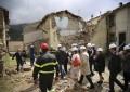 Delegazione Europea in visita nei comuni colpiti dal terremoto