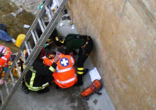 Spoltore: operaio cade da una scala, è grave
