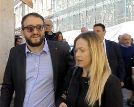 Amministrative L'Aquila, Meloni si congratula con Biondi