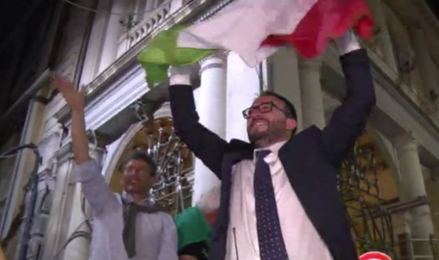 In Abruzzo vince il centrodestra, Biondi sindaco dell'Aquila