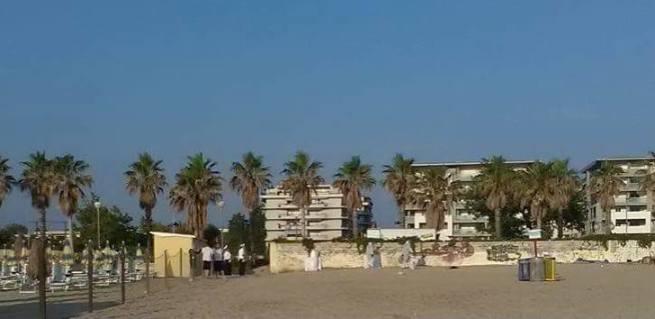 Montesilvano, Via Ariosto, sgomberata anche la spiaggia