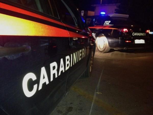 Farindola: ladri messi in fuga dai carabinieri