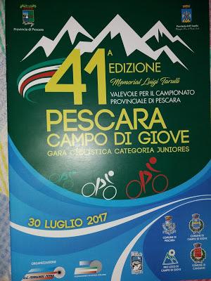 Ciclismo, torna la Pescara-Campo di Giove